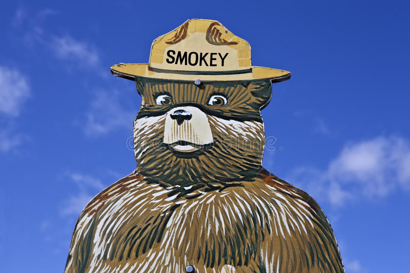 Download Smokey The Bear Fire Prevention Sign Editorial Stock Image - Image: 24358244