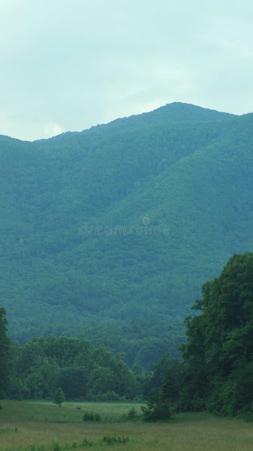 Smokey berg arkivfoto