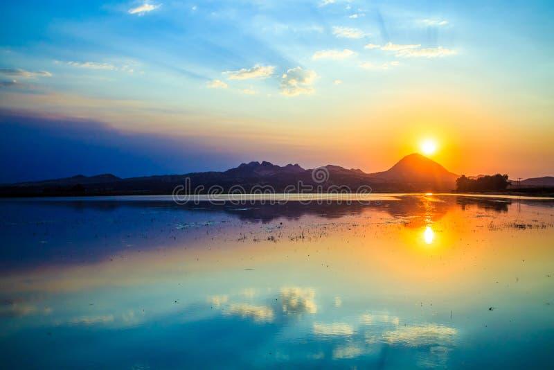 Smokey Buttes Sunset arkivbilder