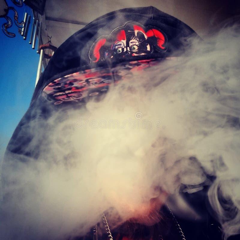 Smokey hace frente imagenes de archivo