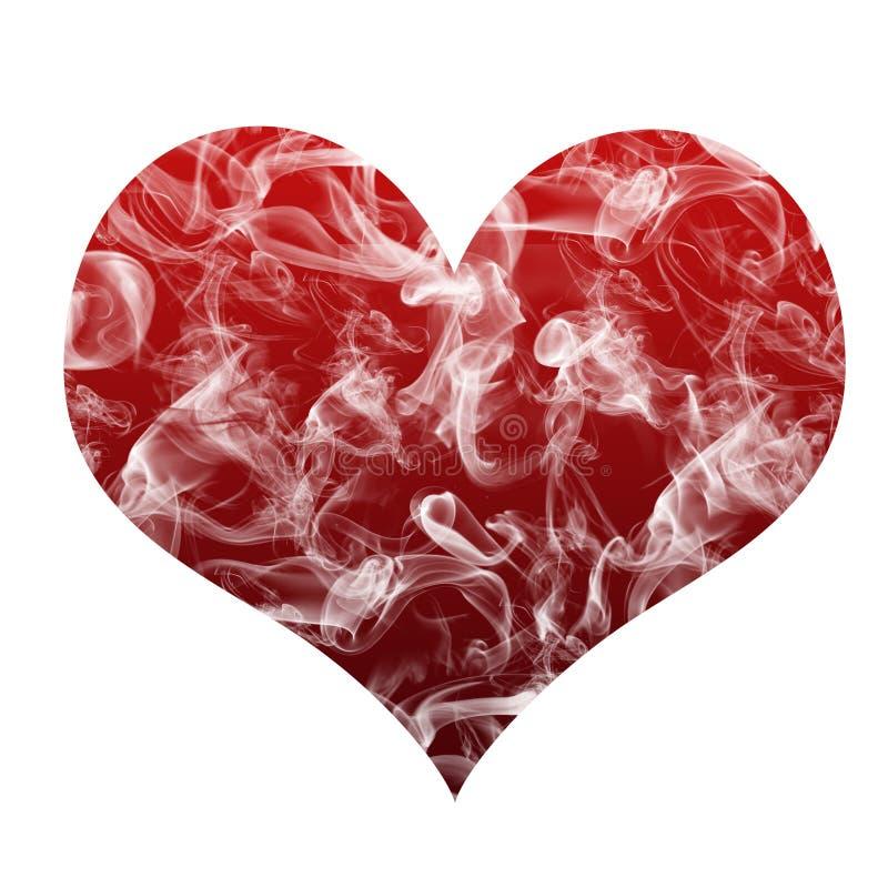 Smokey Heart Royalty Free Stock Images