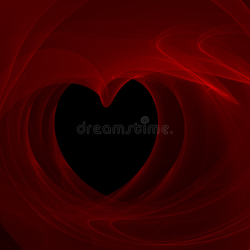 Download Smokey Heart stock illustration. Image of marriage, curves - 2892025