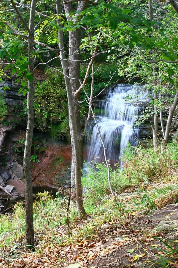 Smokey Hollow Waterfalls. In Waterdown near the GTA area royalty free stock photos
