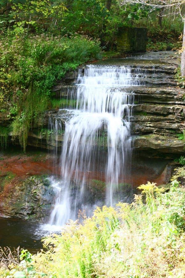 Smokey Hollow Waterfalls royalty free stock image