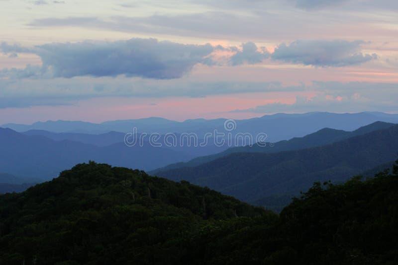 Smokey Mountain Hues photos libres de droits