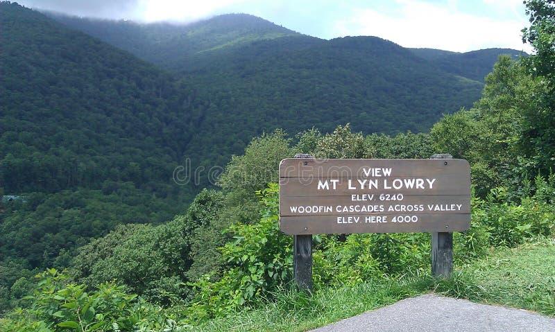 Smokey Mountain Views fotografía de archivo libre de regalías