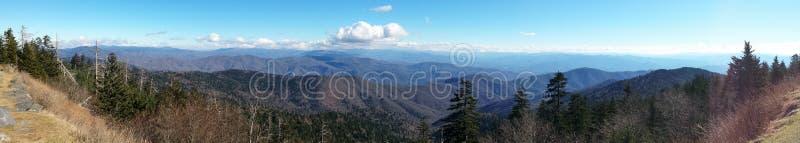 Smokey Mountains Panoramic stock photos