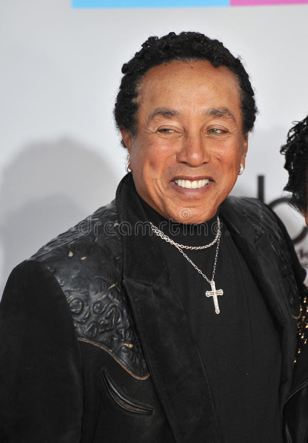 Download Smokey Robinson editorial stock image. Image of american - 22467609