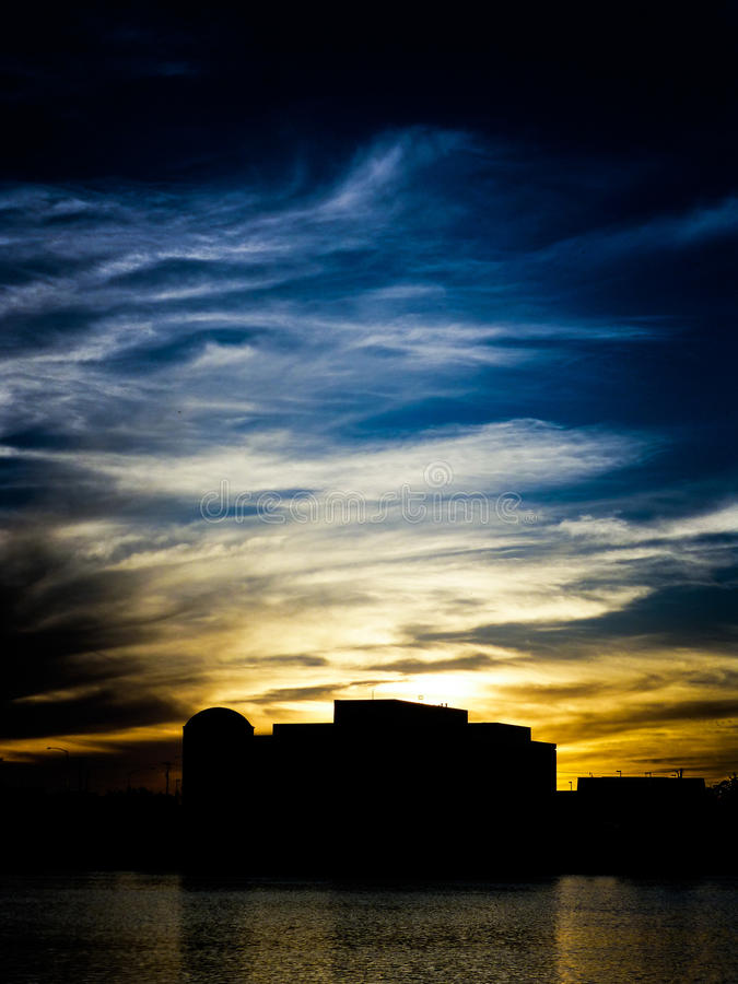 Smokey Sunset 3 lizenzfreie stockbilder