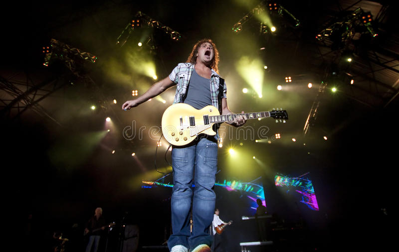Smokie rock band performs at Cluj Arena Grand Open
