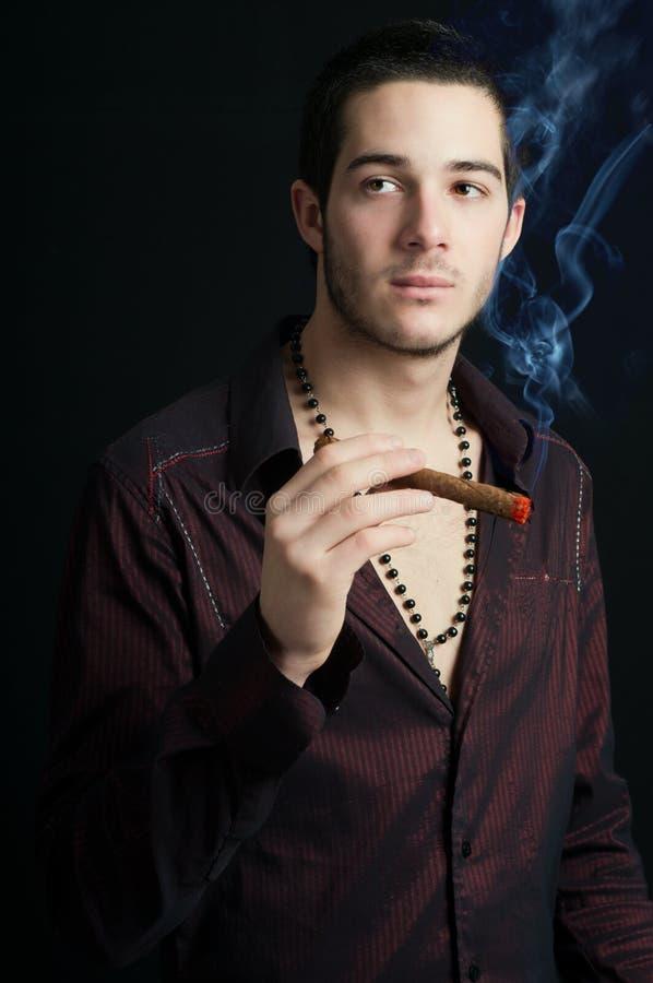 Download Smoking stock image. Image of looking, cigarette, smoking - 17302431