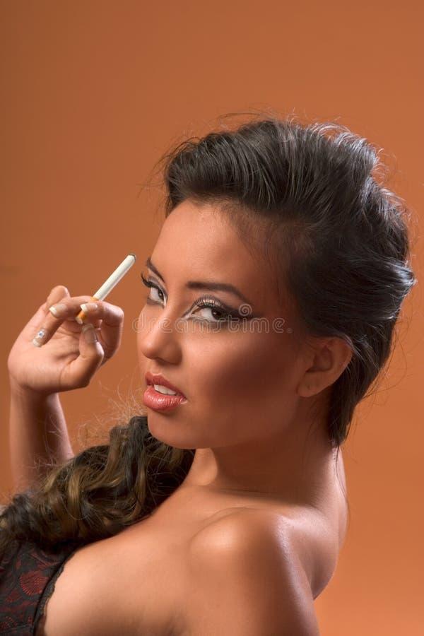 Download Smoking stock image. Image of brown, habit, ethnicities - 3532069