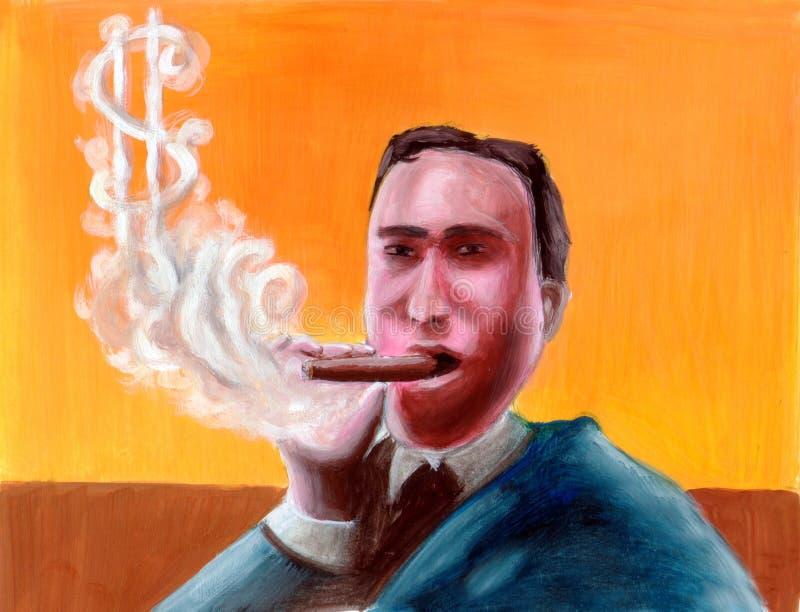 Download Smoking Business Man Stock Photo - Image: 190240