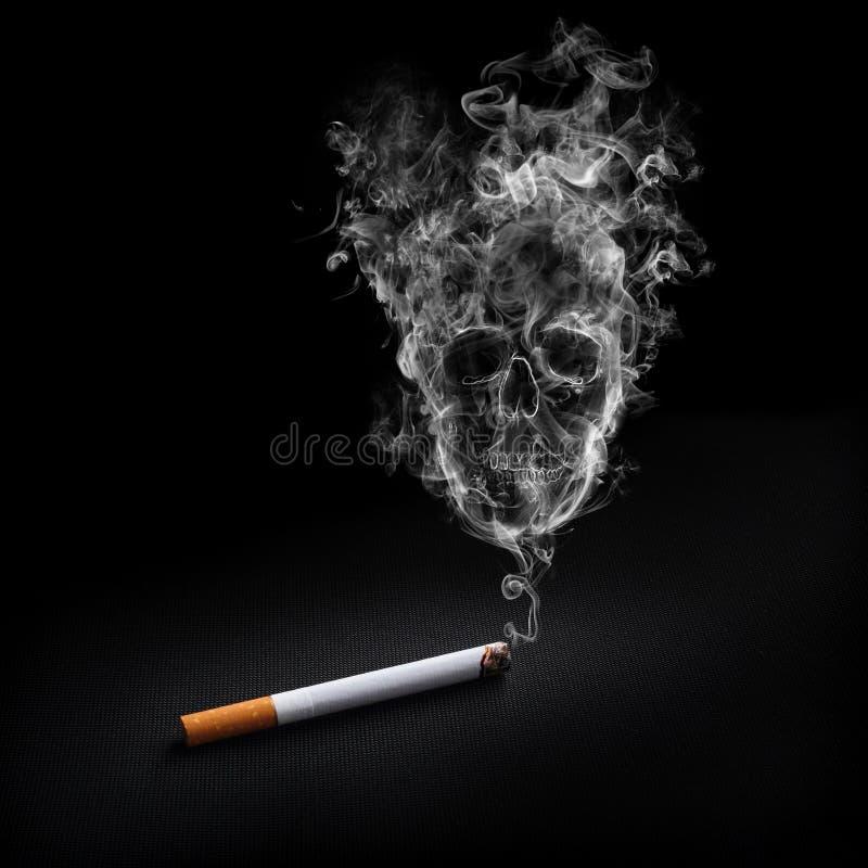 Download Smoking cigarette stock illustration. Image of gray, close - 21756860