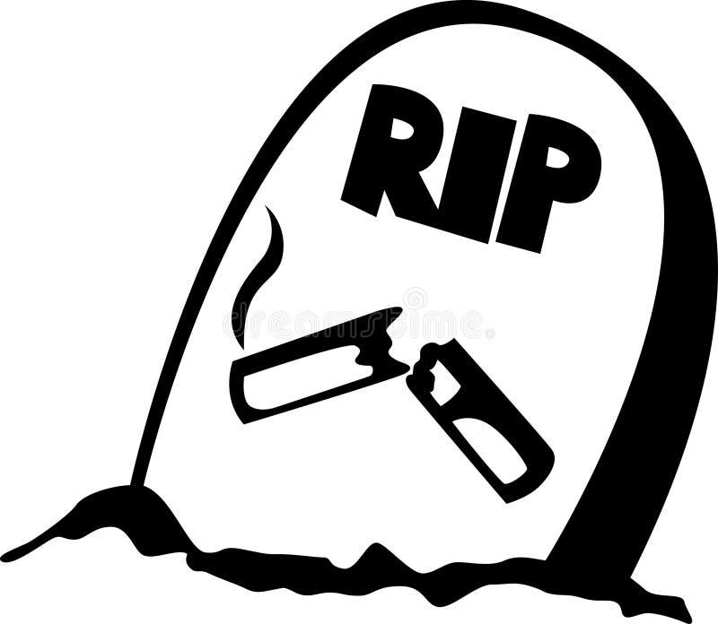 Download Smoking Grave Vector Illustration Stock Vector - Illustration: 1622129