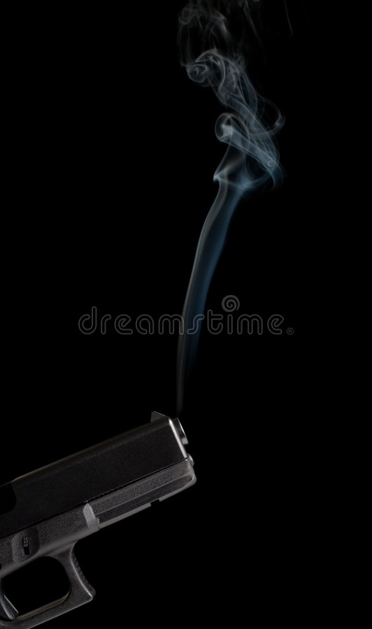 Free Smoking Gun Stock Photo - 2127460