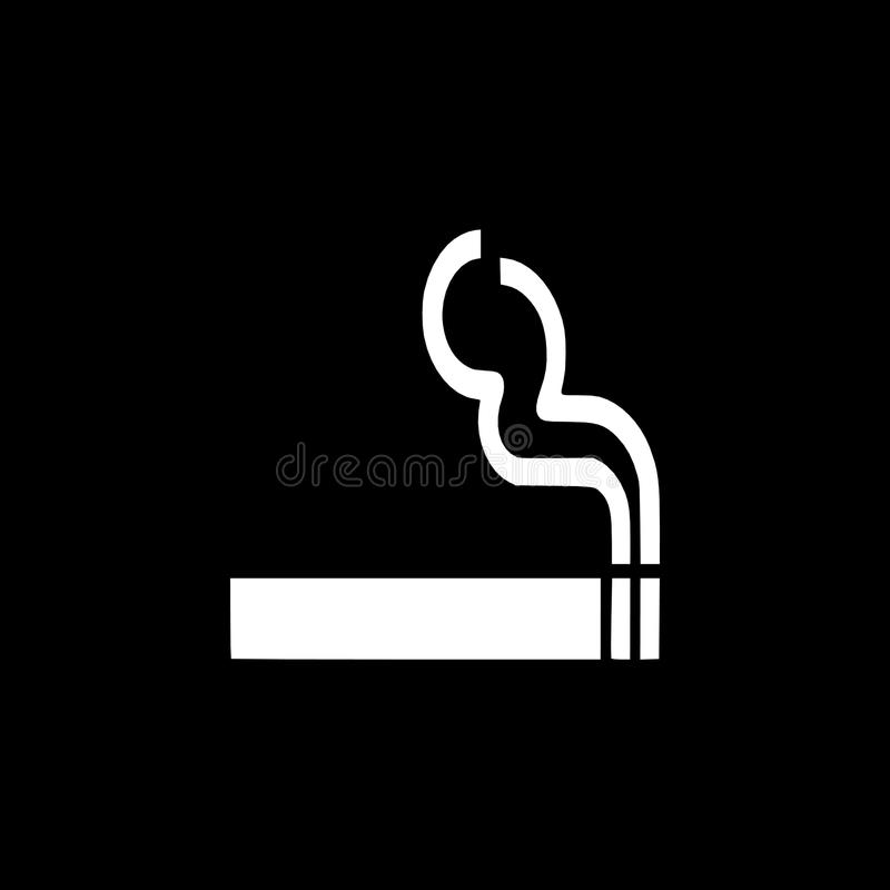 Monochrome Smoke Logo Set: Best Tobacco Logo Design Set , Emblems Can Be Used For