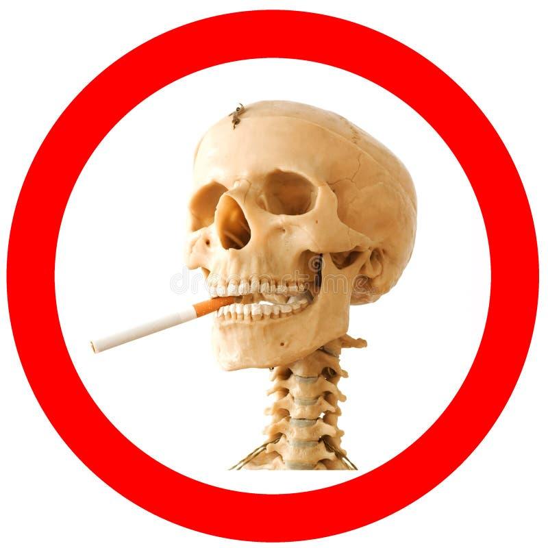 Download Smoking kills stock image. Image of isolated, head, mark - 11397709
