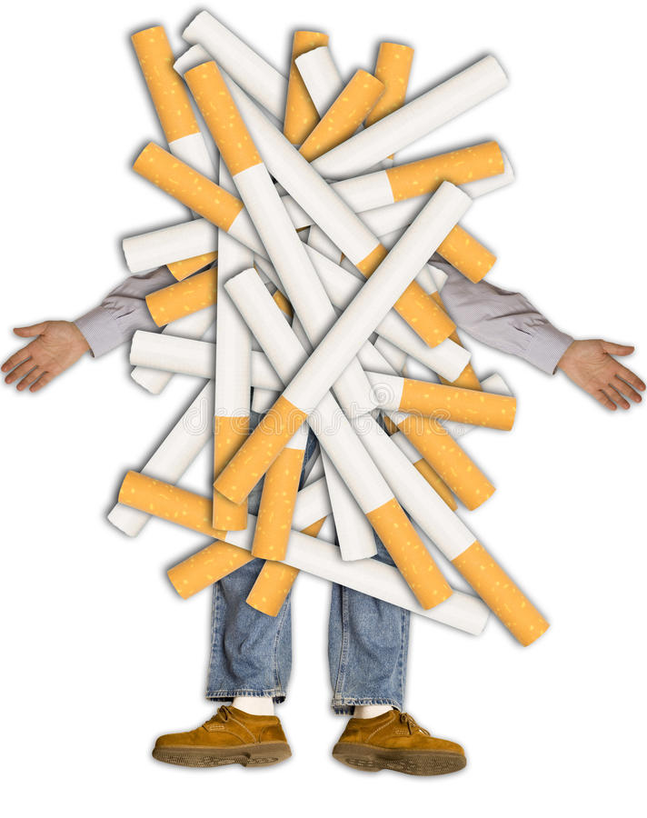 Download Smoking kills stock image. Image of white, smoke, smoking - 15654771