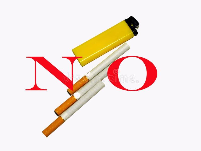 Smoking kills stock image