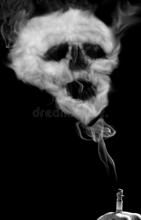 Download Smoking kills stock illustration. Image of abuse, coronary - 878059