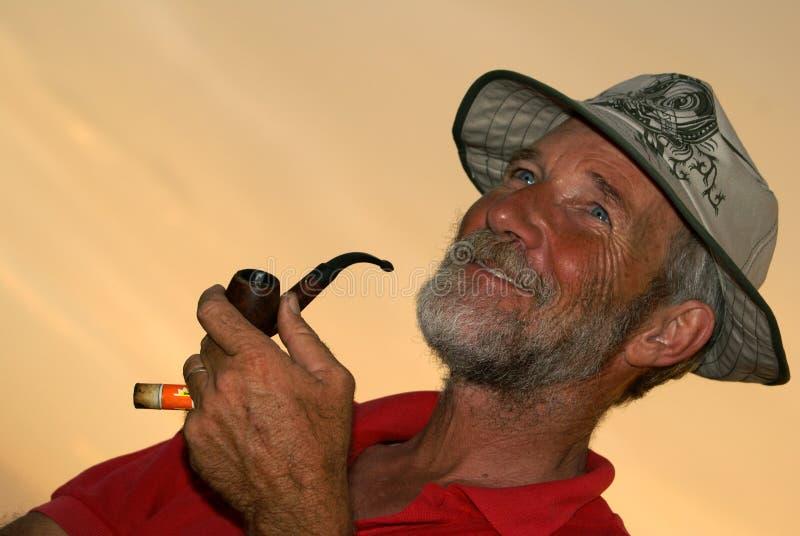 Download Smoking man stock photo. Image of emotion, sunburned, smoking - 4986506