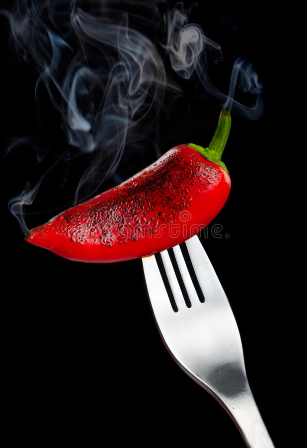 Download Smoking pepper stock photo. Image of pepper, burn, object - 24149568