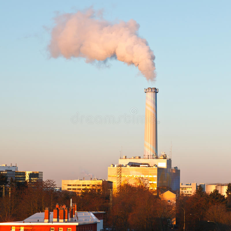 Download Smoking pipe stock photo. Image of global, chimney, construction - 16595878