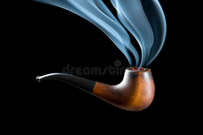 Download Smoking pipe stock image. Image of addiction, personal - 26200015