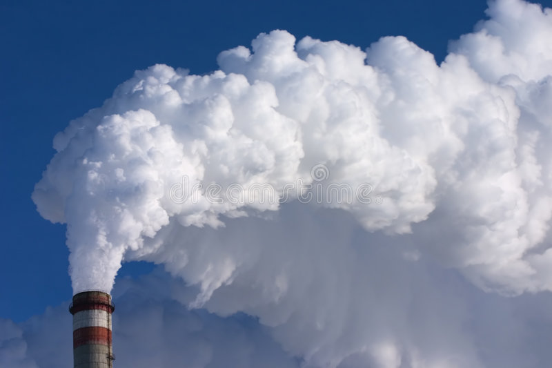 Download Smoking pipe of factory stock image. Image of dirty, coal - 2069115