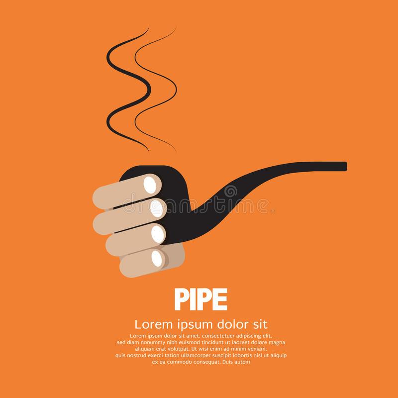 Download Smoking Pipe stock vector. Illustration of traditional - 39507949