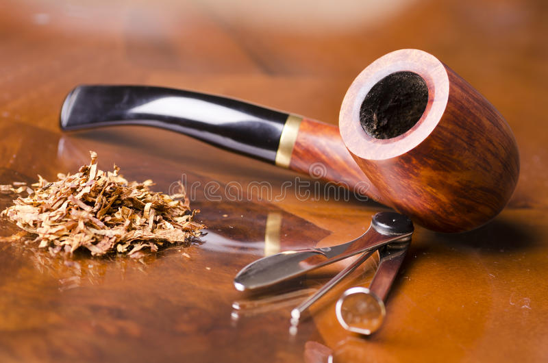 Smoking pipe stock photos