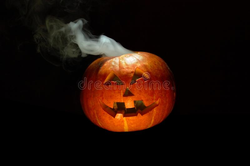 Download Smoking pumpkin stock photo. Image of background, gourd - 6694068