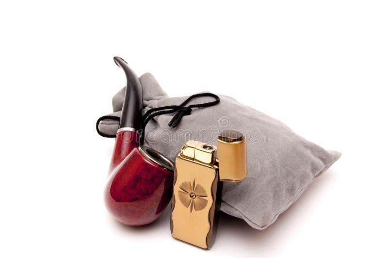 Smoking set stock images