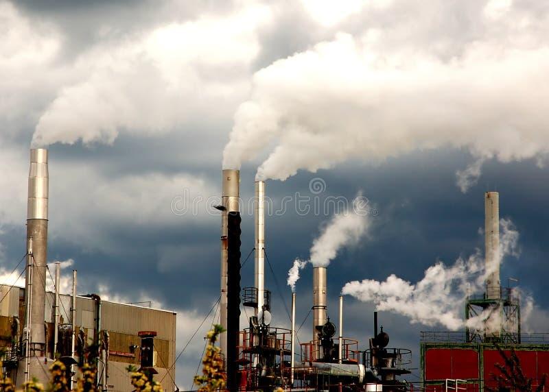 Download Smoking stacks stock photo. Image of environment, fume - 3261334