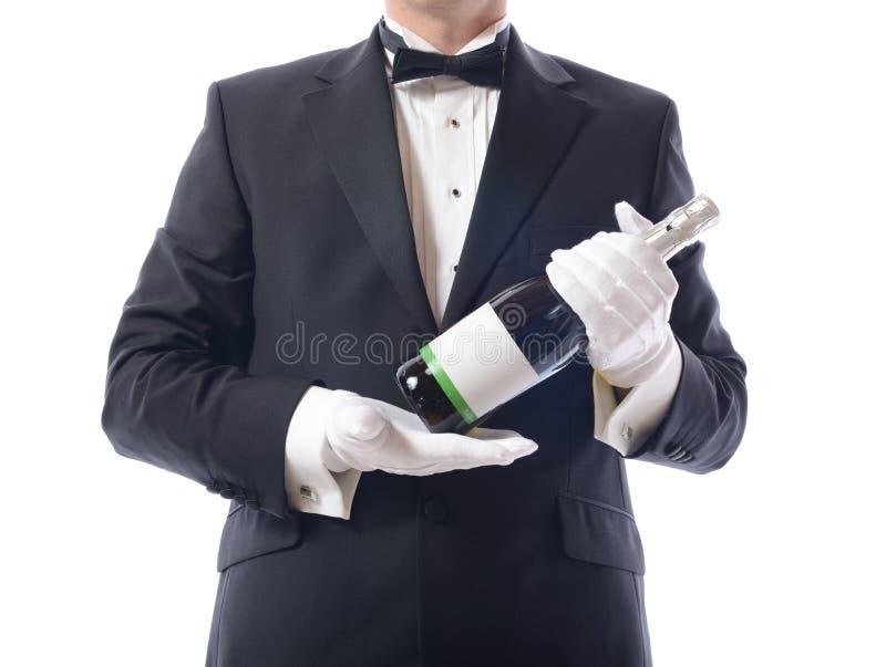 Smoking target148_0_ szampana zdjęcie royalty free