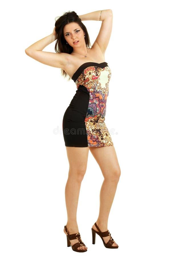 smokingowa ostra kobieta fotografia stock