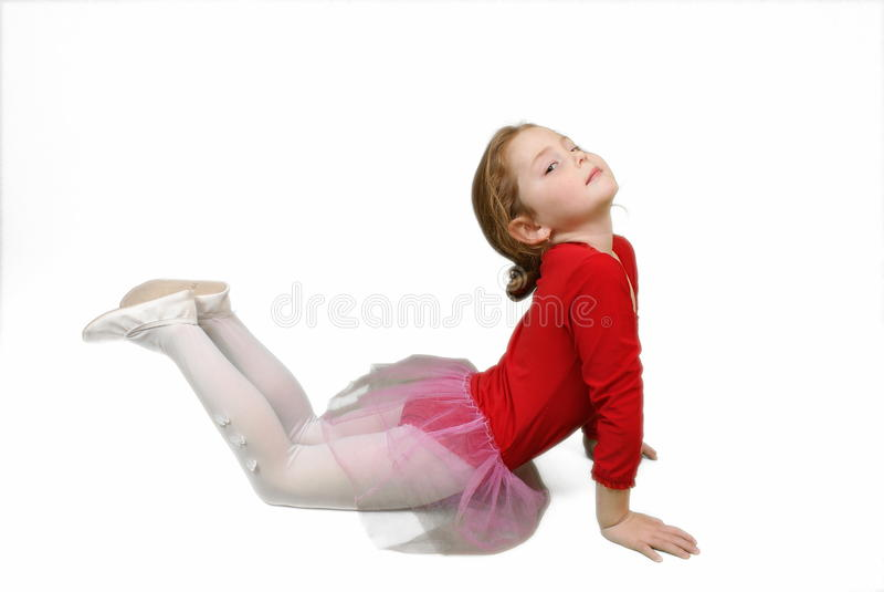 smokingowej eleganckiej dziewczyny mała czerwień obraz royalty free