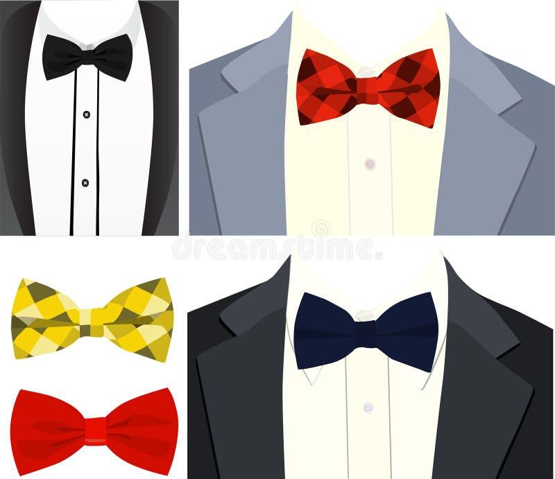 Smokingu i krawata wektoru wizerunek zdjęcia royalty free