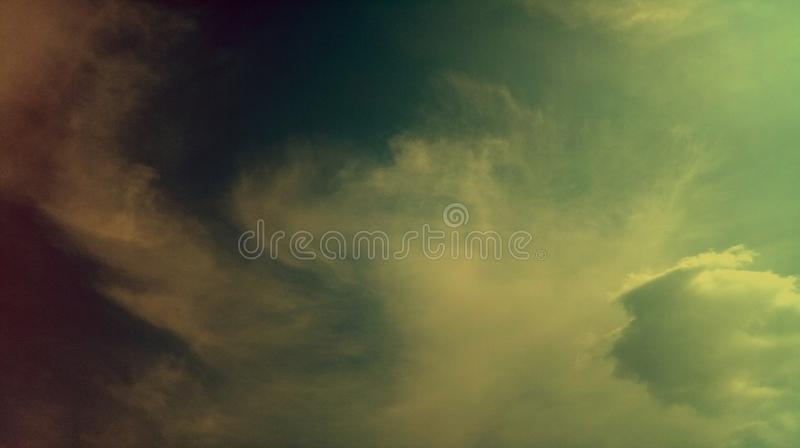Smoky clouds colorful mixture effects texture background wallpaper. stock image