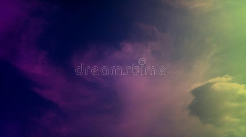 Smoky clouds colorful mixture effects texture background wallpaper. royalty free stock photography
