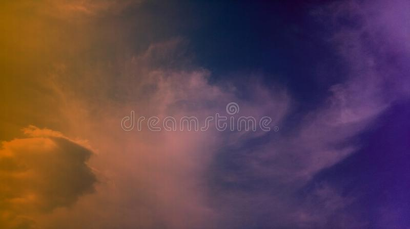 Smoky clouds colorful mixture effects texture background wallpaper. stock photo