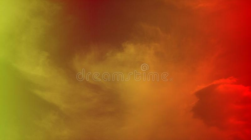 Smoky clouds colorful mixture effects texture background wallpaper. stock photos