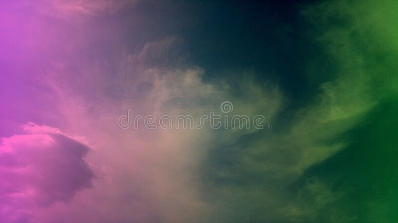 Smoky clouds colorful mixture effects texture background wallpaper. royalty free stock image