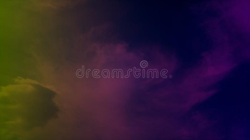 Smoky clouds colorful mixture effects texture background wallpaper. royalty free stock photos