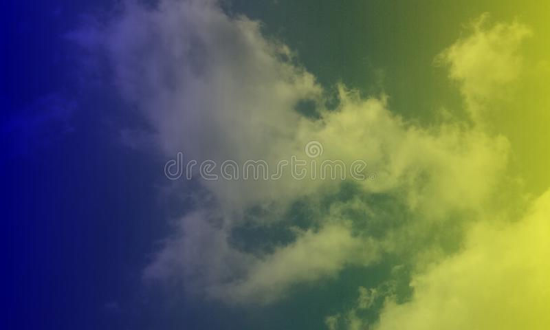 Smoky clouds pink blue color mixture effects texture background wallpaper. stock photography