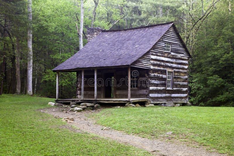 Smoky Mountain Cabin. A Cabin in Cades Cove stock photos
