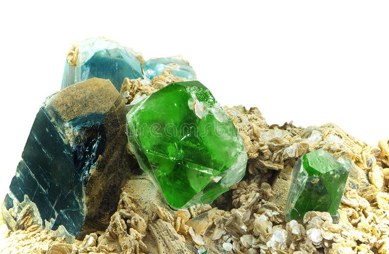 minerals royalty free stock images