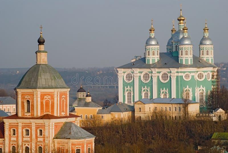 Smolensk-Kathedrale stockfotografie