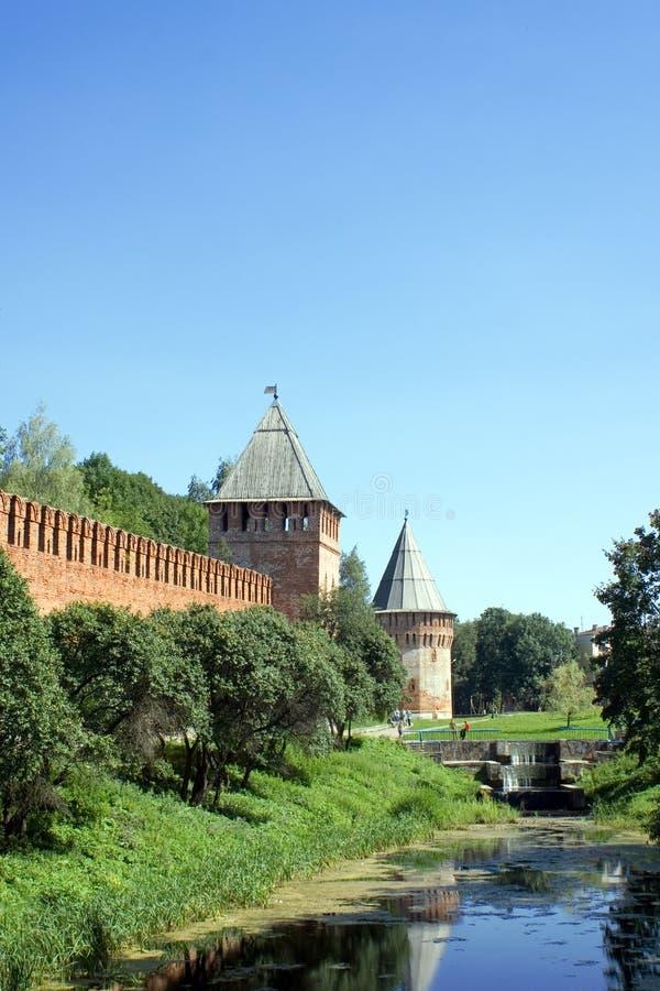 Smolensk Kremlin imagens de stock royalty free